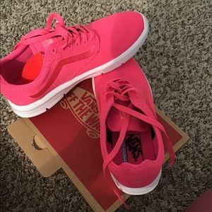 Vans knockout pink size 8